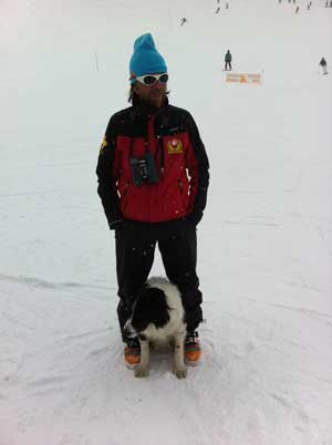 Fab Jolly with his dog image of