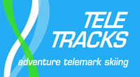 Tele Tracks Logo, Telemark skiing holidays and courses