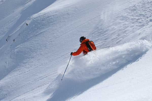 Skiing Val d'Isere's Grand Vallon sector image of.